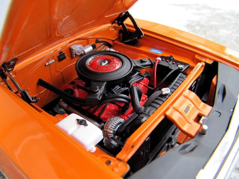 Dodge Charger R/T engine