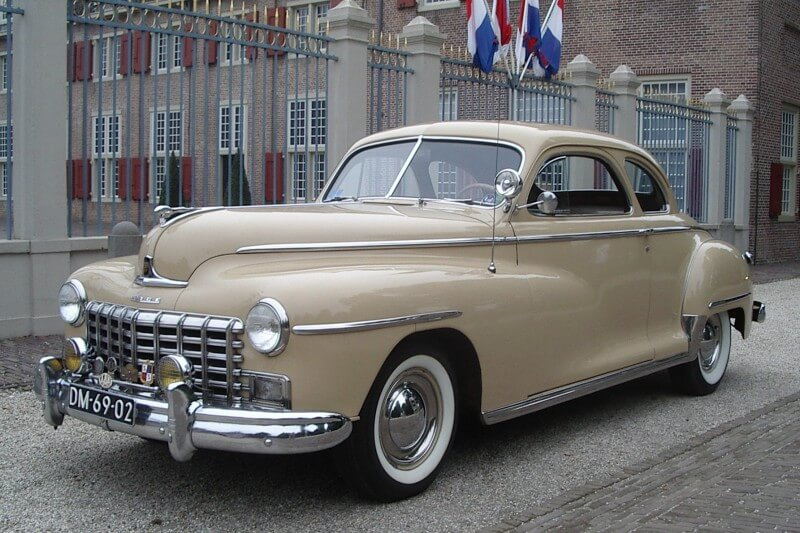 Dodge Custom Club Social Security 1948