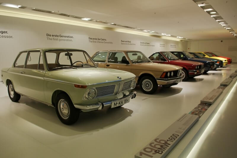 bmw in factory museums