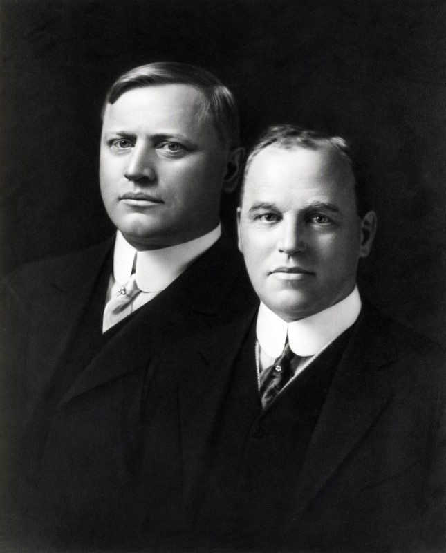 Photo of the Dodge brothers