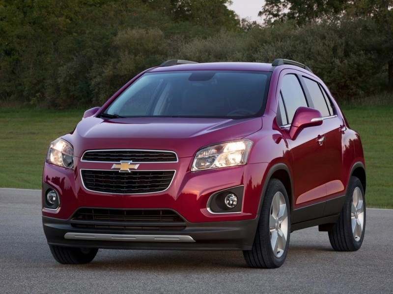 Chevrolet Tracker front view