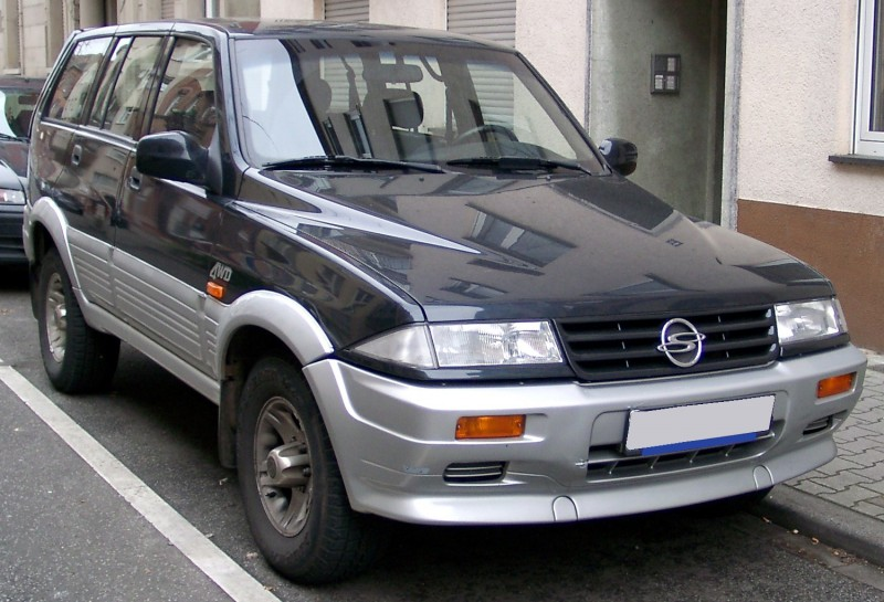 SsangYong Musso 1993