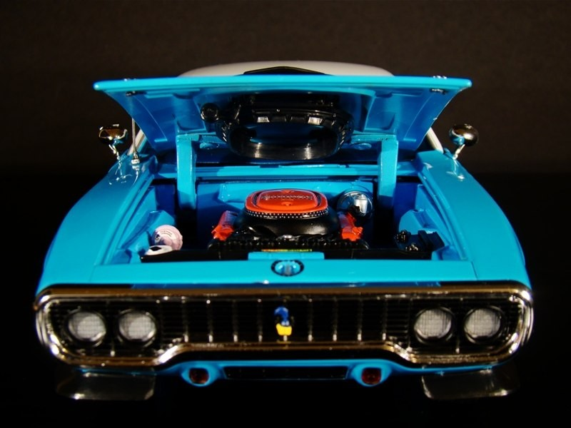 Engine Plymouth Road Runner 440-6