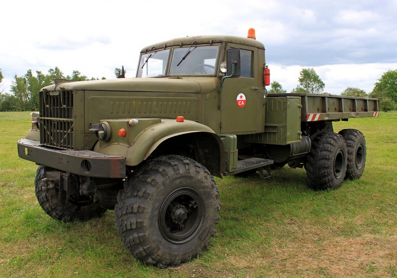 KrAZ-255 of the year 1965