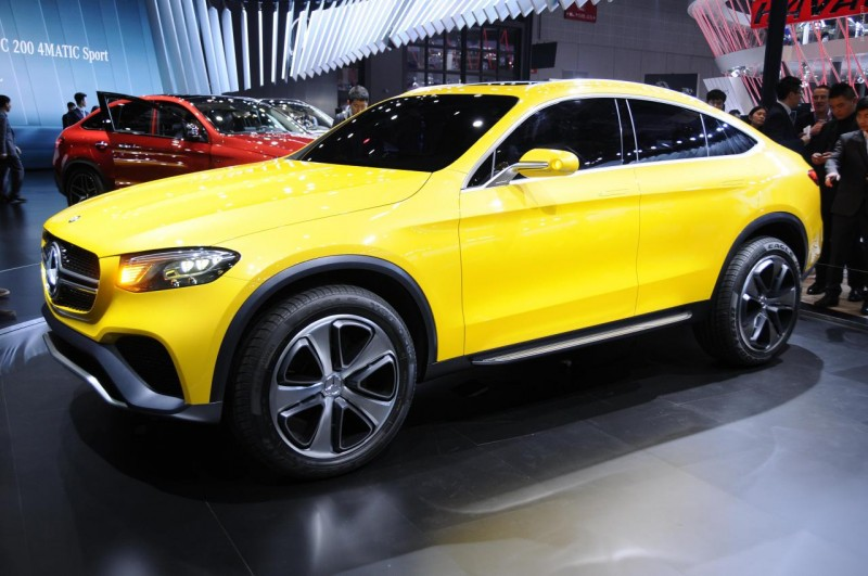 Mercedes-Benz GLC Coupe side view