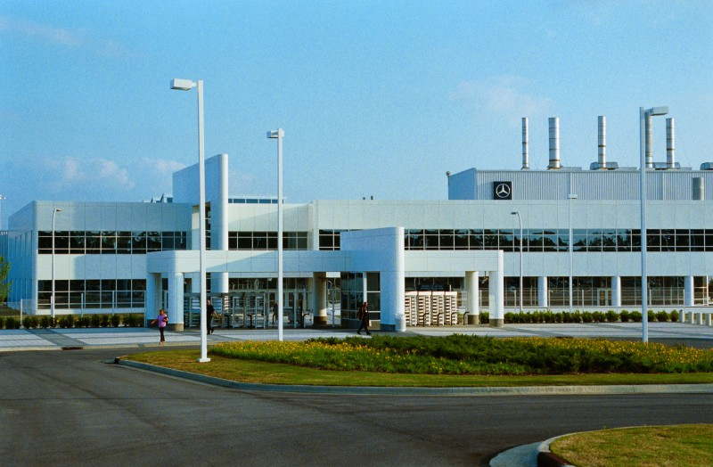Mercedes-Benz factory