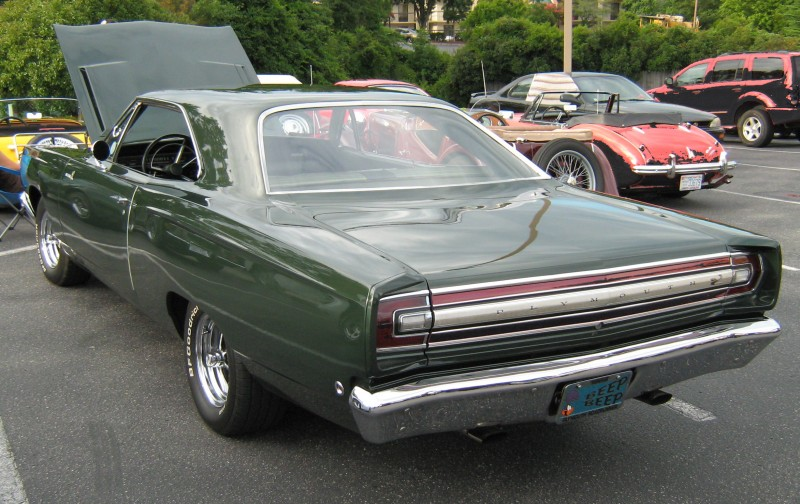 Plymouth Road Runner rear view