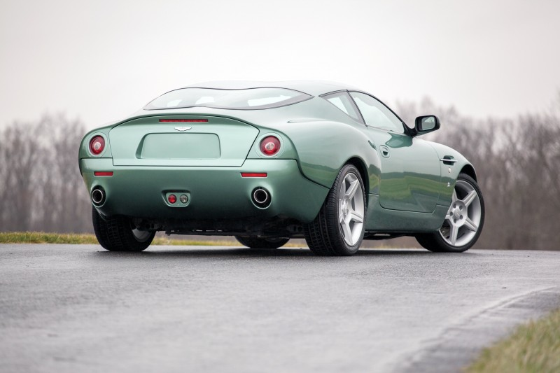 Aston Martin DB7 Zagato rear view