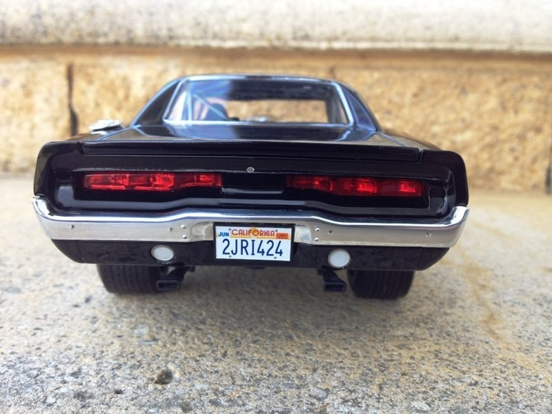 Dodge Charger Fast and Furious back view