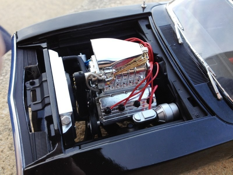 Dodge Charger Fast and Furious engine