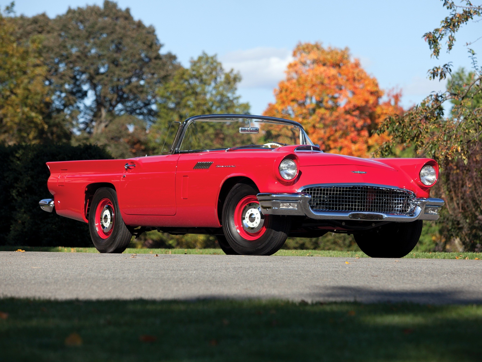 Ford Thunderbird Special Supercharged 312 - specifications ...