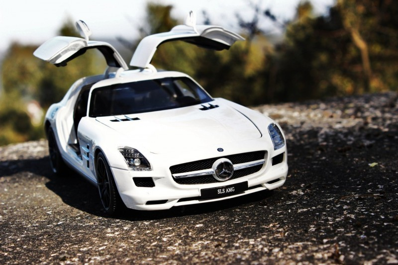 Mercedes-Benz SLS AMG front view