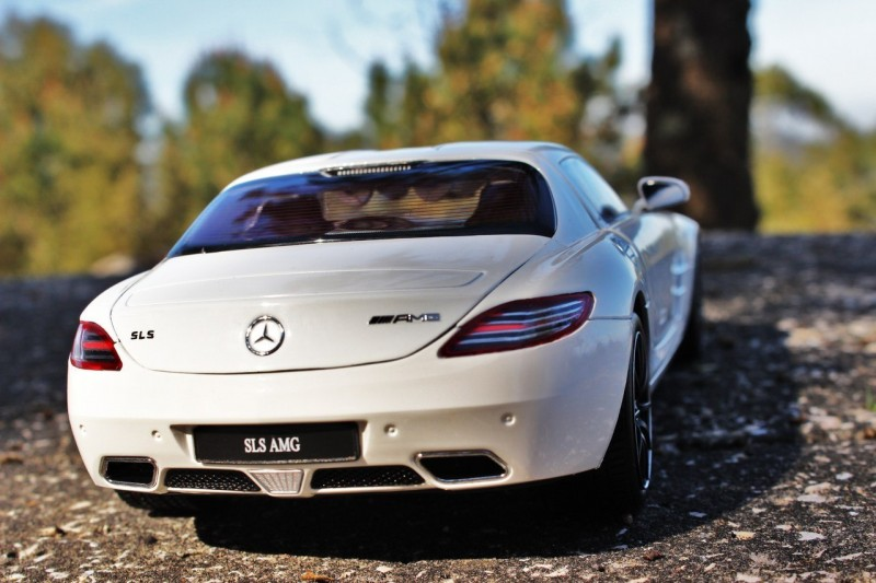 Mercedes-Benz SLS AMG rear view