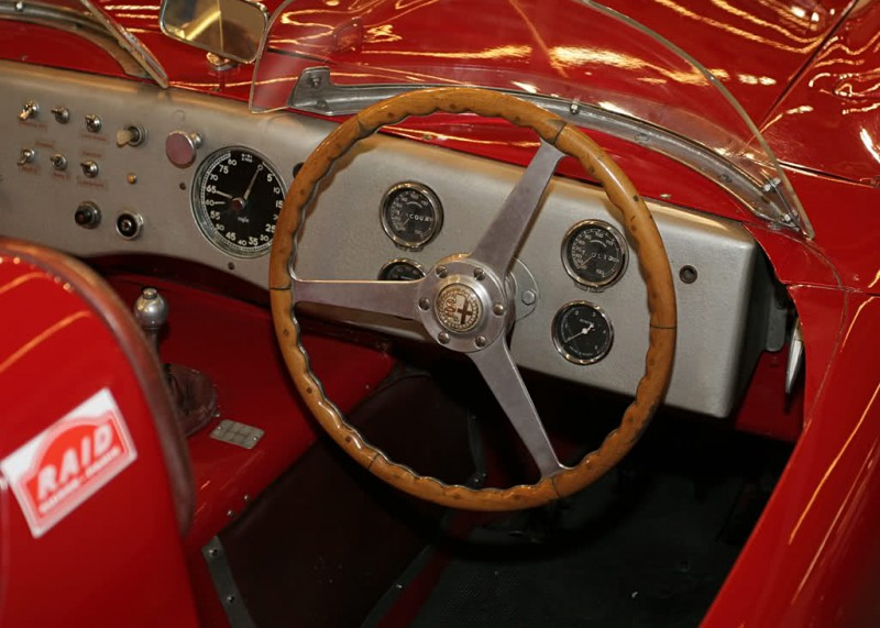 Alfa Romeo 6C 3000 CM Colli Spider Salon