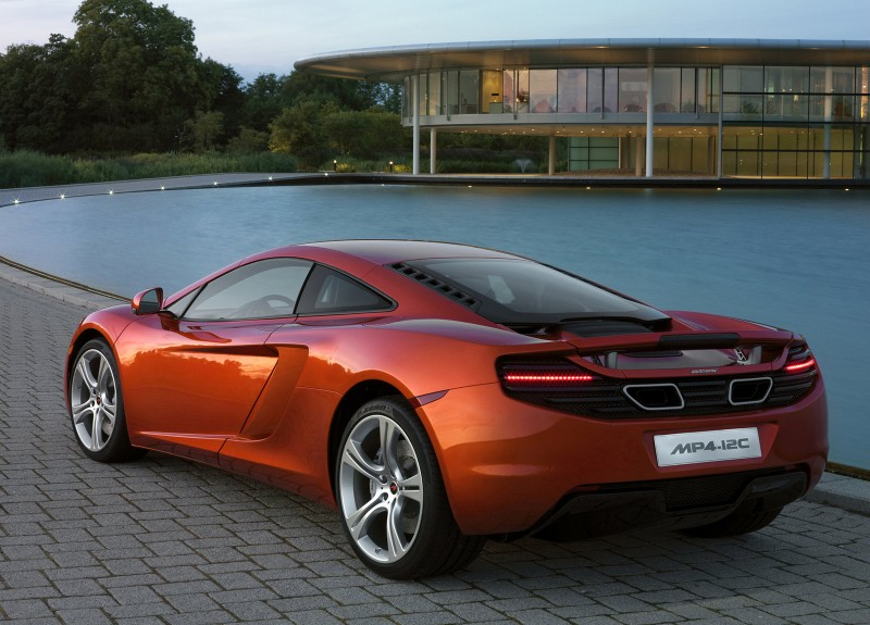 McLaren MP4-12C rear view