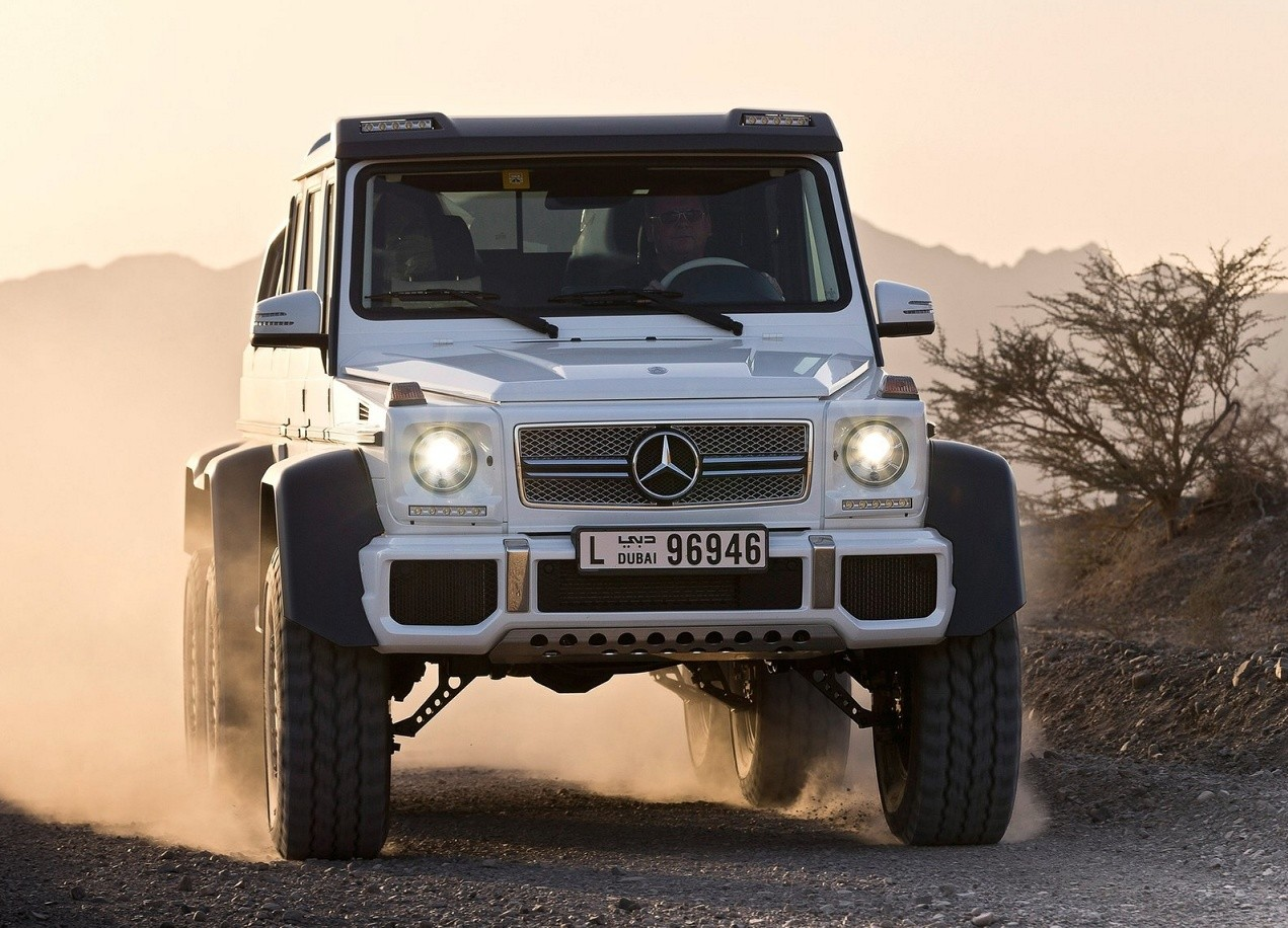 Mercedes Benz G63 Amg 6x6 Specifications Photos Videos Overview