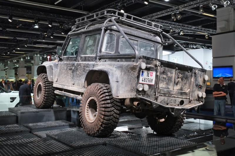 Land Rover Defender rear view