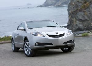 Front view of Acura ZDX