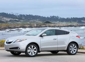 Side view of Acura ZDX