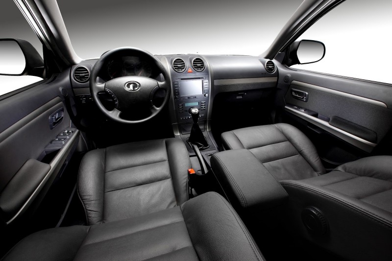 Great Wall Hover H5 interior