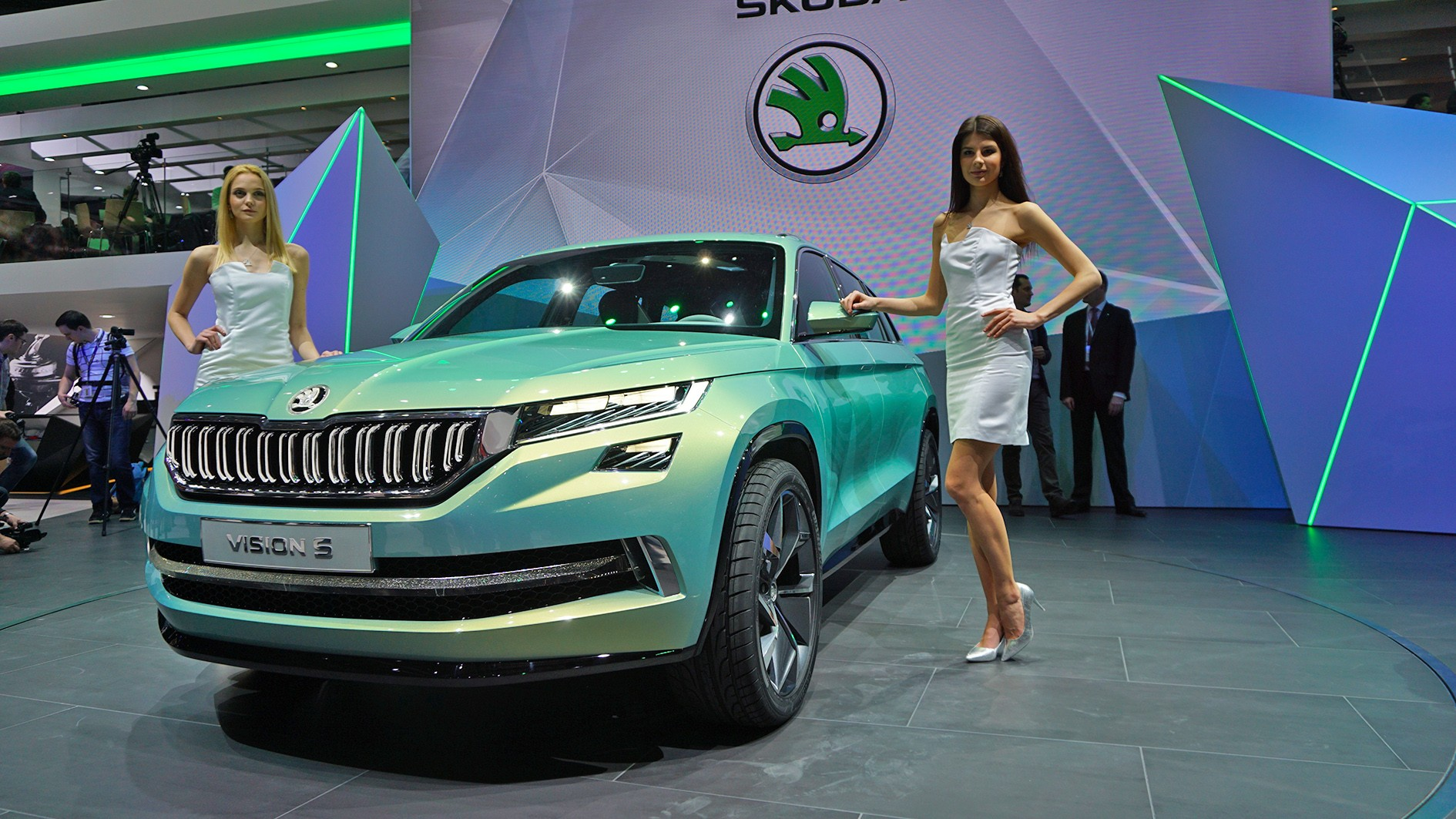 Skoda VisionS front view