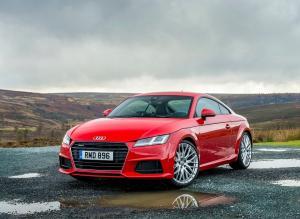 Front view of Audi TT