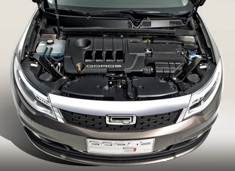 Qoros 3 Sedan engine