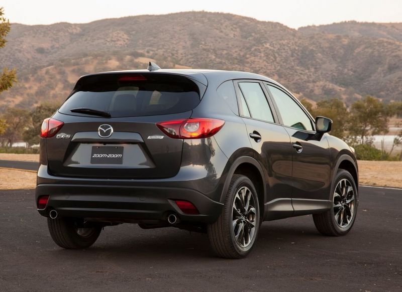 rear view Mazda CX-5