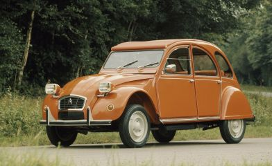 The ugly Frenchman is the history of the Citroen 2CV