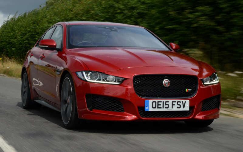 Jaguar introduced the new XE sedan
