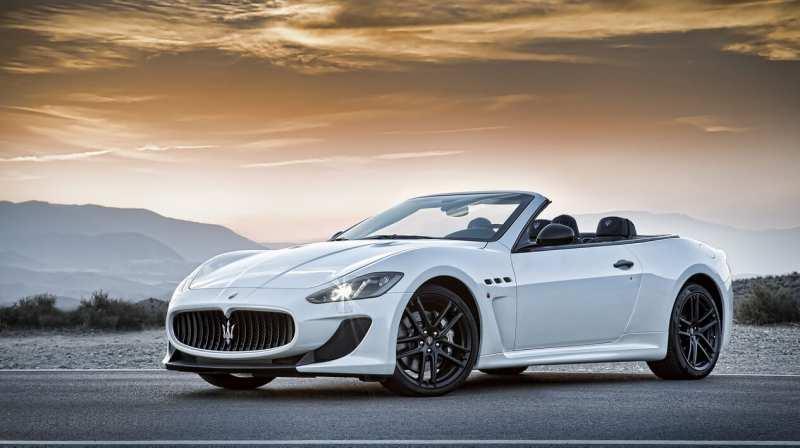 Maserati GranCabrio sports car