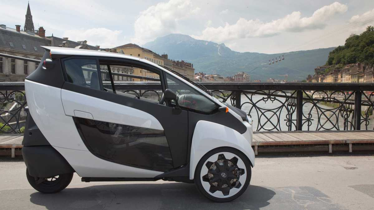 Toyota i-Road photography