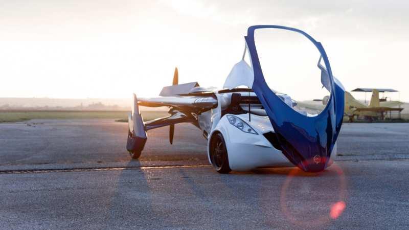Flying car from AeroMobil