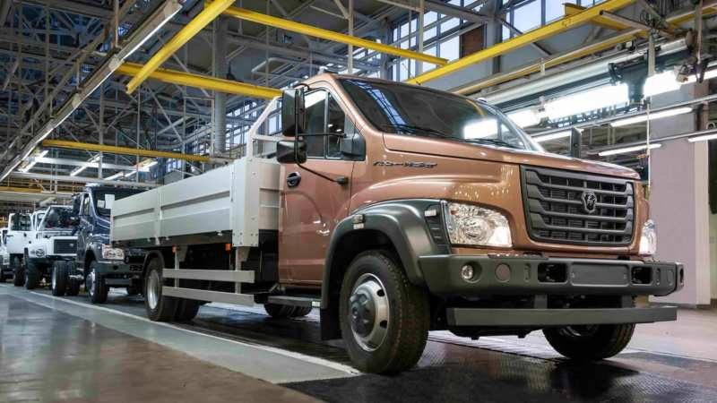 Two new products of GAZ City for urban roads