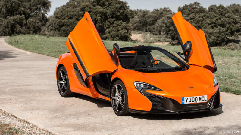 Fresh photos of McLaren Sport Series