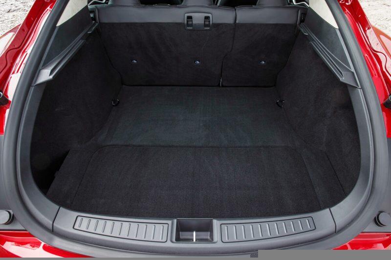 The trunk Tesla Model S