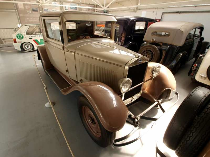 Skoda 422 from the 30s