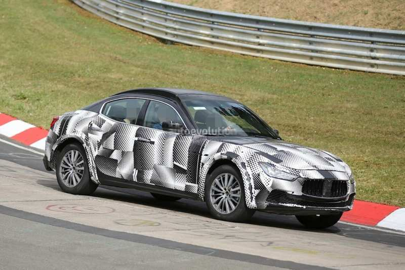 A new unusual crossover from Maserati