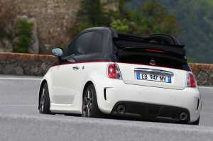 Rear view Abart 500C