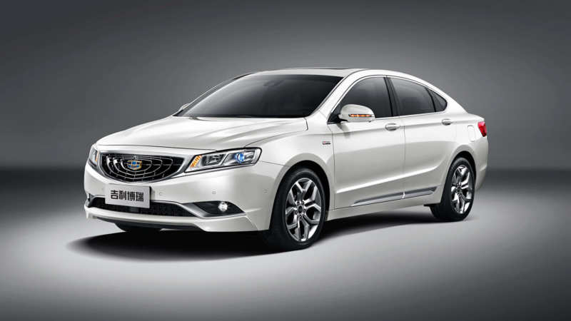 Alluring Emgrand by Geely