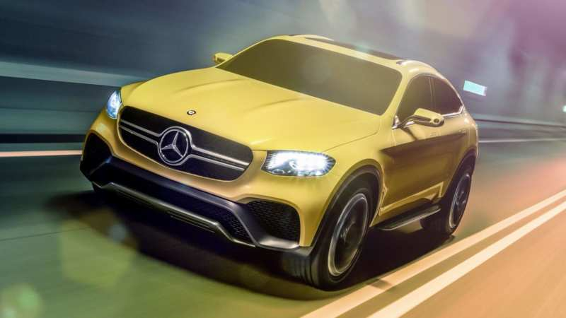 GLC Coupe from Mercedes