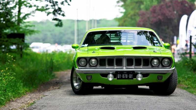 Plymouth Barracuda photo car