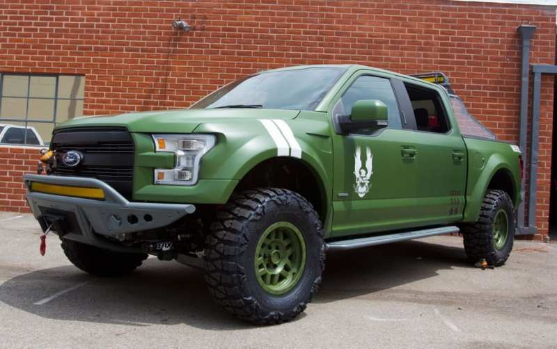 Common features of the Ford F-150 and halo 5