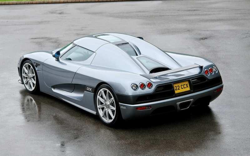 Koenigsegg CCX rear view