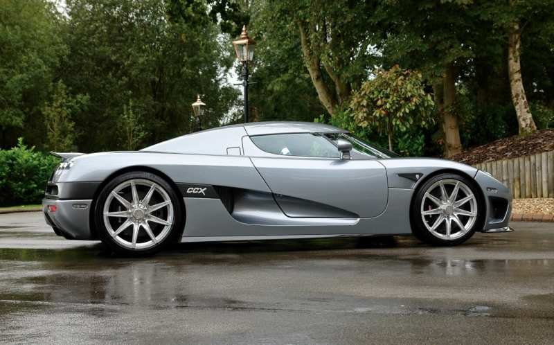 Koenigsegg CCX side view