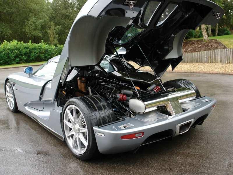 Koenigsegg CCX engine