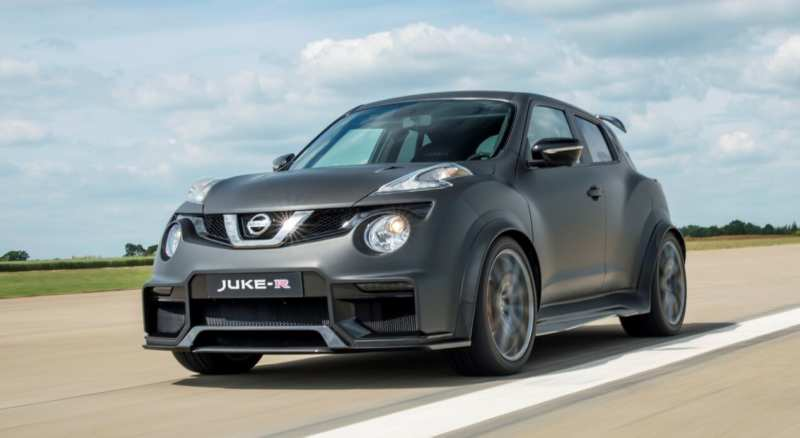 Swollen engine Nissan Juke-R 2.0