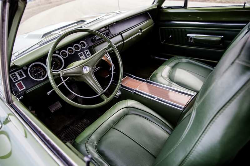 Interior of Plymouth Road Runner