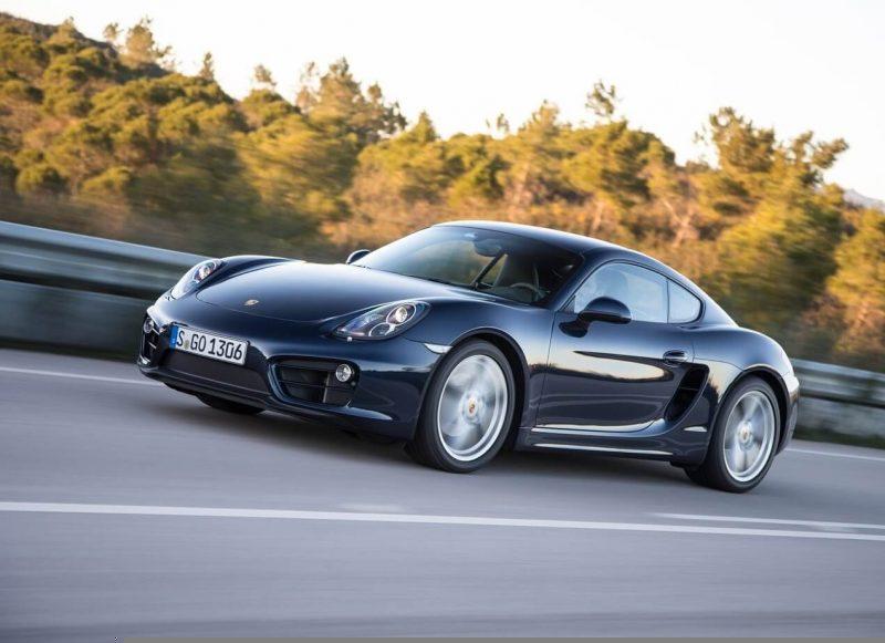 Porsche Cayman supercar