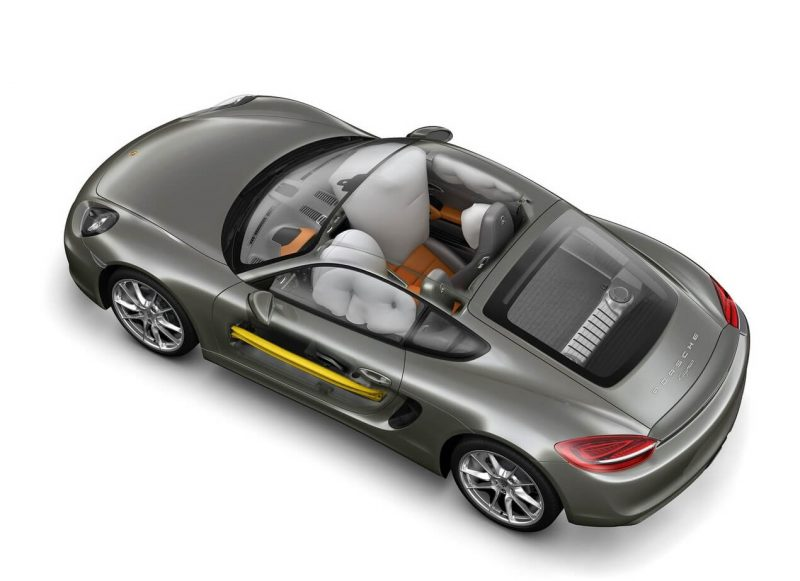 Safety Porsche Cayman